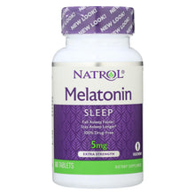 Load image into Gallery viewer, Natrol Melatonin - 5 Mg - 60 Tablets