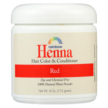 Load image into Gallery viewer, Rainbow Research Henna Hair Color And Conditioner Persian Red - 4 Oz