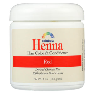 Rainbow Research Henna Hair Color And Conditioner Persian Red - 4 Oz