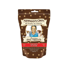 Load image into Gallery viewer, Newman's Own Organics Premium Dog Treats - Chicken - Case Of 6 - 10 Oz.