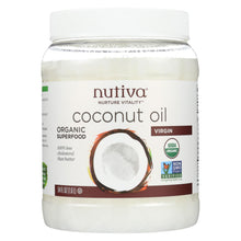 Load image into Gallery viewer, Nutiva Virgin Coconut Oil Organic - 54 Fl Oz