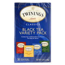 Load image into Gallery viewer, Twining's Tea Black Tea - Case Of 6 - 20 Bags