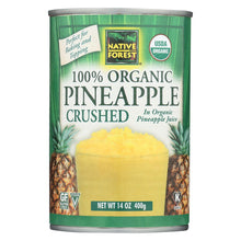Load image into Gallery viewer, Native Forest Organic Pineapple - Crushed - Case Of 6 - 14 Oz.