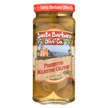Load image into Gallery viewer, Santa Barbara Olives - Martini Style - Case Of 6 - 5 Oz.