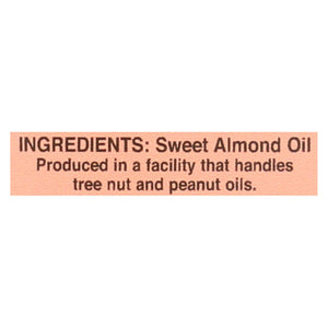 International Collection Almond Oil - Sweet - Case Of 6 - 8.45 Fl Oz.