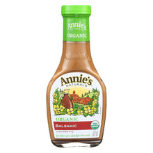 Load image into Gallery viewer, Annie's Naturals Vinaigrette Organic Balsamic - Case Of 6 - 8 Fl Oz.