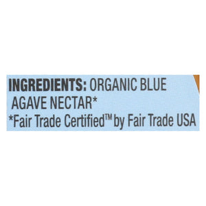 Wholesome Sweeteners Blue Agave - Organic - 11.75 Oz - Case Of 6