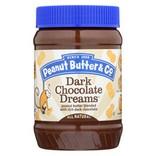 Load image into Gallery viewer, Peanut Butter And Co Peanut Butter - Dark Chocolate Dreams - Case Of 6 - 16 Oz.