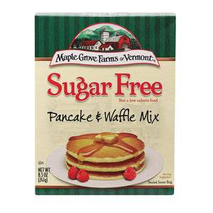 Maple Grove Farms - Sugar Free Pancake And Waffle Mix - Case Of 8 - 8.5 Oz.