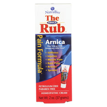 Load image into Gallery viewer, Natrabio The Arnica Rub Pain Relief Cream - 2 Oz