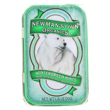 Load image into Gallery viewer, Newman's Own Organics Mints - Organic - Wintergreen - 1.65 Oz - Case Of 6