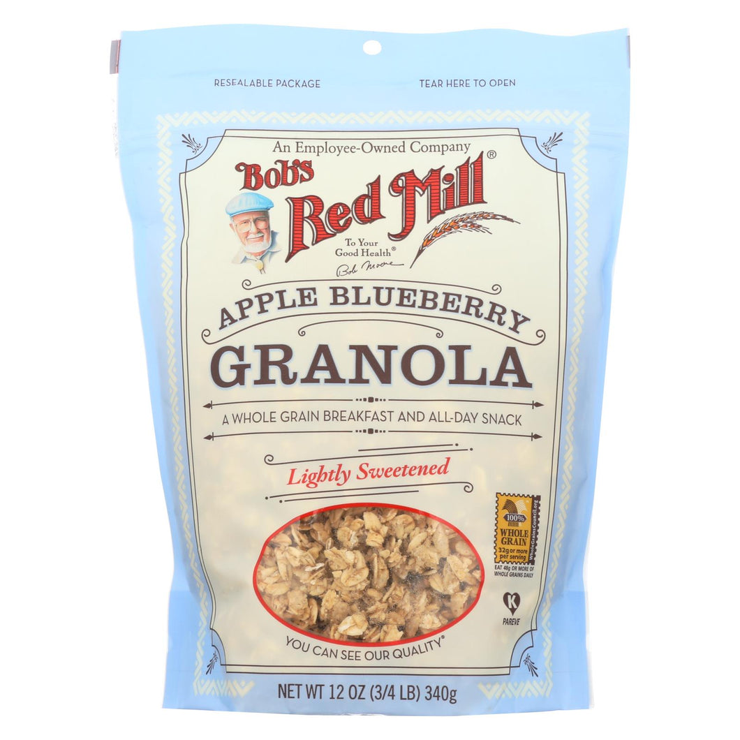 Bob's Red Mill - Apple Blueberry Granola - 12 Oz - Case Of 4
