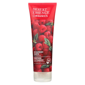 Desert Essence - Shampoo Shine For All Hair Types Red Raspberry - 8 Fl Oz