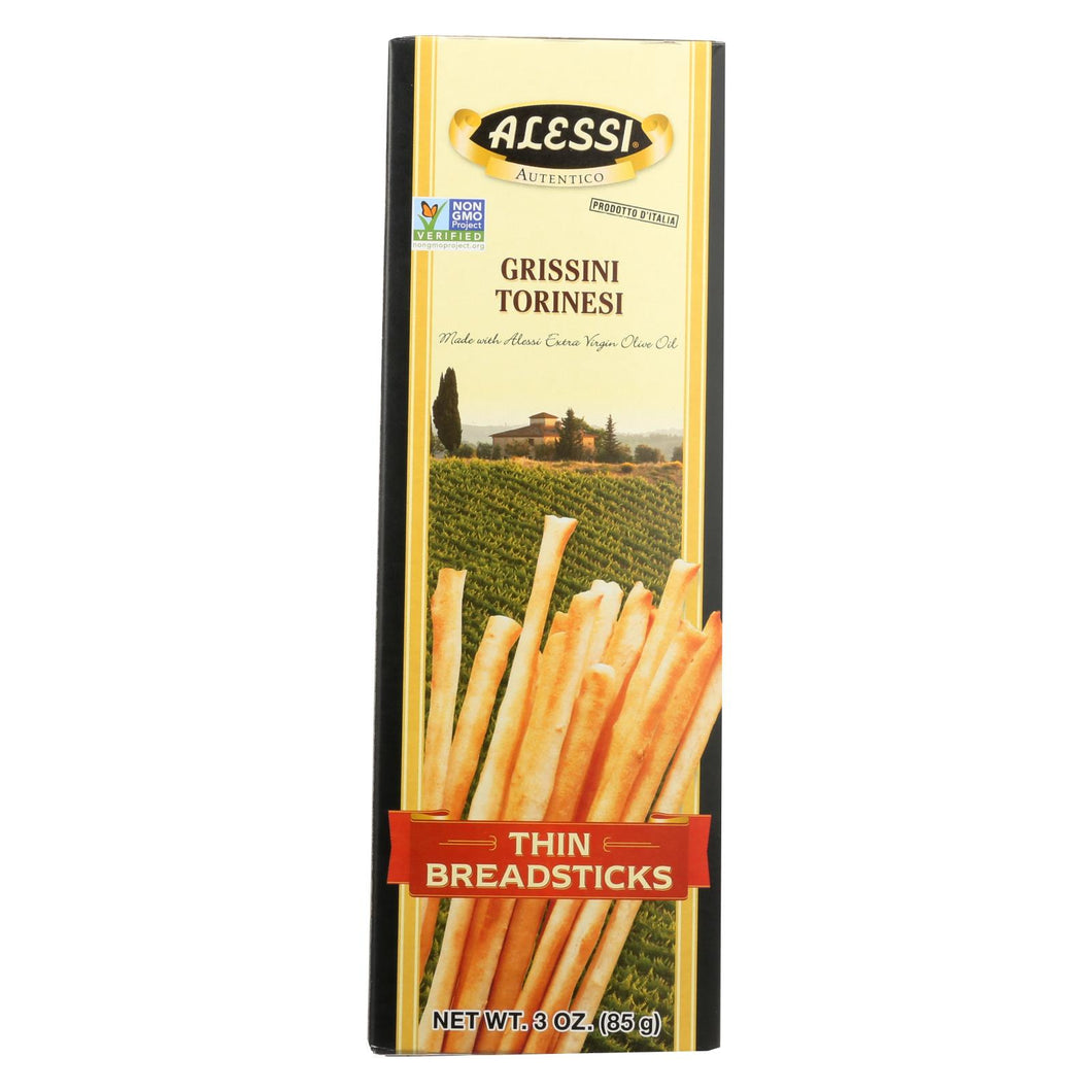 Alessi - Breadsticks - Thin - Case Of 12 - 3 Oz.