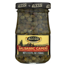 Load image into Gallery viewer, Alessi - Capers In White Balsamic Vinegar - 3.5 Oz - Case Of 6