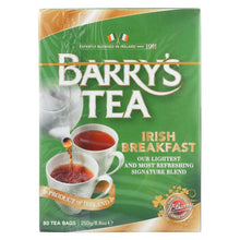 Load image into Gallery viewer, Barry's Tea - Irish Tea - Irish Breakfast - Case Of 6 - 80 Bags