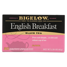 Load image into Gallery viewer, Bigelow Tea English Breakfast Black Tea - Case Of 6 - 20 Bags