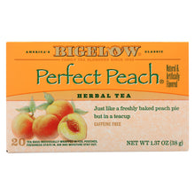 Load image into Gallery viewer, Bigelow Tea Tea - Peach - Case Of 6 - 20 Bag