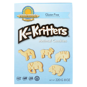 Kinnikinnick Animal Cookies - Case Of 6 - 8 Oz.