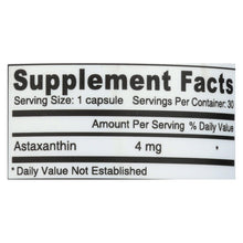 Load image into Gallery viewer, Deva Vegan Vitamins - Astaxanthin Super Antioxidant - 4 Mg - 30 Capsules