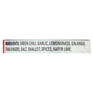 Thai Kitchen Green Curry Paste - Case Of 12 - 4 Oz.