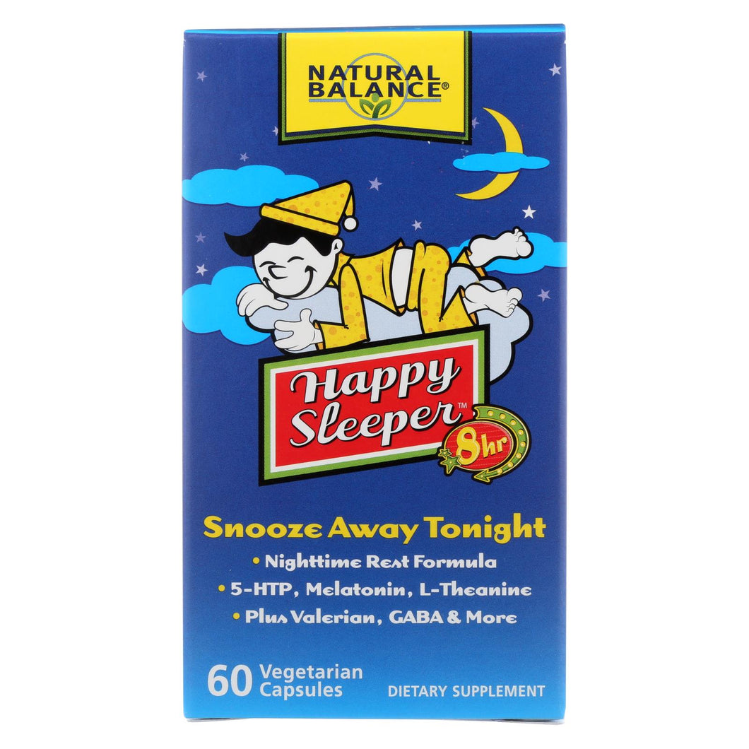 Natural Balance Happy Sleeper - 60 Vegetarian Capsules