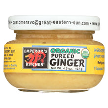 Load image into Gallery viewer, Emperor's Kitchen Organic Pureed Ginger - Case Of 12 - 4.5 Oz.