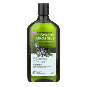 Avalon Organics Volumizing Shampoo Rosemary - 11 Fl Oz
