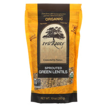 Load image into Gallery viewer, Truroots Organic Green Lentils - Sprouted - Case Of 6 - 10 Oz.