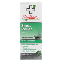 Load image into Gallery viewer, Similasan Sinus Relief - 0.68 Fl Oz