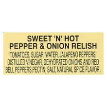 Load image into Gallery viewer, Dickinson - Pepper Onion Relish - Case Of 6 - 8.75 Oz