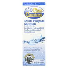 Load image into Gallery viewer, Clear Conscience Multi Purpose Contact Lens Solution - 12 Oz