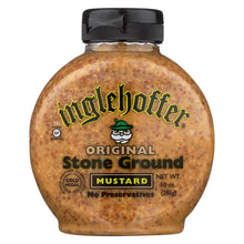 Load image into Gallery viewer, Inglehoffer - Mustard - Original Stone Ground - Case Of 6 - 10 Oz.