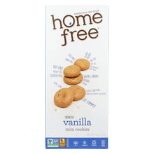 Load image into Gallery viewer, Homefree - Gluten Free Mini Cookies - Vanilla - Case Of 6 - 5 Oz.