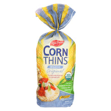 Load image into Gallery viewer, Real Foods Organic Corn Thins - Case Of 6 - 5.3 Oz.