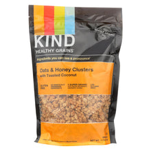 Load image into Gallery viewer, Kind Healthy Grains Oats And Honey Clusters With Toasted Coconut - 11 Oz - Case Of 6