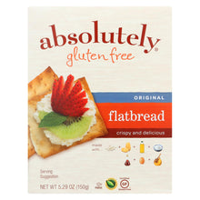 Load image into Gallery viewer, Absolutely Gluten Free - Flatbread - Original - Case Of 12 - 5.29 Oz.