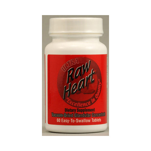 Ultra Glandulars Raw Heart - 60 Tablets