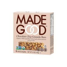 Load image into Gallery viewer, Made Good Granola Bar - Chocolate Chip - Case Of 6 - 5 Oz.