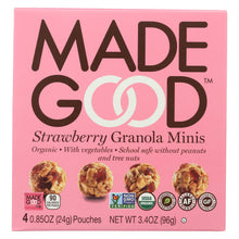Load image into Gallery viewer, Made Good Granola Minis - Strawberry - Case Of 6 - 3.4 Oz.