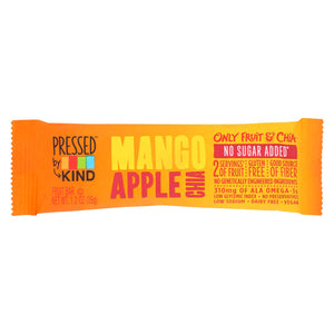 Kind Fruit And Chia Bar - Mango Apple Chia - Case Of 12 - 1.2 Oz