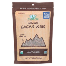 Load image into Gallery viewer, Natierra Organic Cacao Nibs - Chocolate - Case Of 6 - 10 Oz.