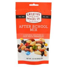 Load image into Gallery viewer, Creative Snacks - After School Mix - Case Of 6 - 3.5 Oz