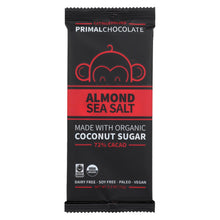 Load image into Gallery viewer, Eating Evolved Chocolate Bar - Almond Sea Salt - Case Of 8 - 2.5 Oz.