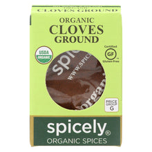 Load image into Gallery viewer, Spicely Organics - Organic Cloves - Ground - Case Of 6 - 0.4 Oz.