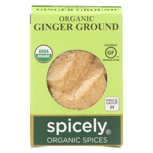Load image into Gallery viewer, Spicely Organics - Organic Ginger - Ground - Case Of 6 - 0.4 Oz.