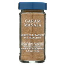 Load image into Gallery viewer, Morton And Bassett - Seasoning - Garam Masala - Case Of 3 - 1.9 Oz.