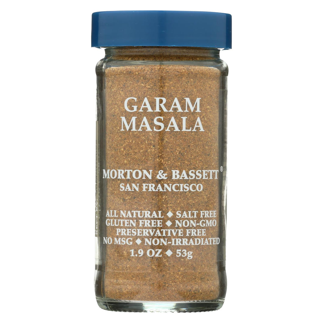 Morton And Bassett - Seasoning - Garam Masala - Case Of 3 - 1.9 Oz.