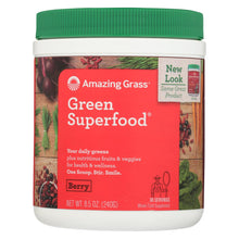 Load image into Gallery viewer, Amazing Grass Green Superfood - Berry - 30 Servings - 8.5 Oz.