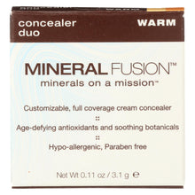 Load image into Gallery viewer, Mineral Fusion - Concealer Duo - Warm - 0.11 Oz.